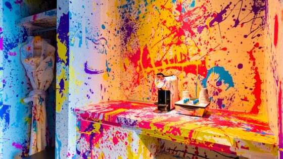 nhow Brussels colourful guestrooms