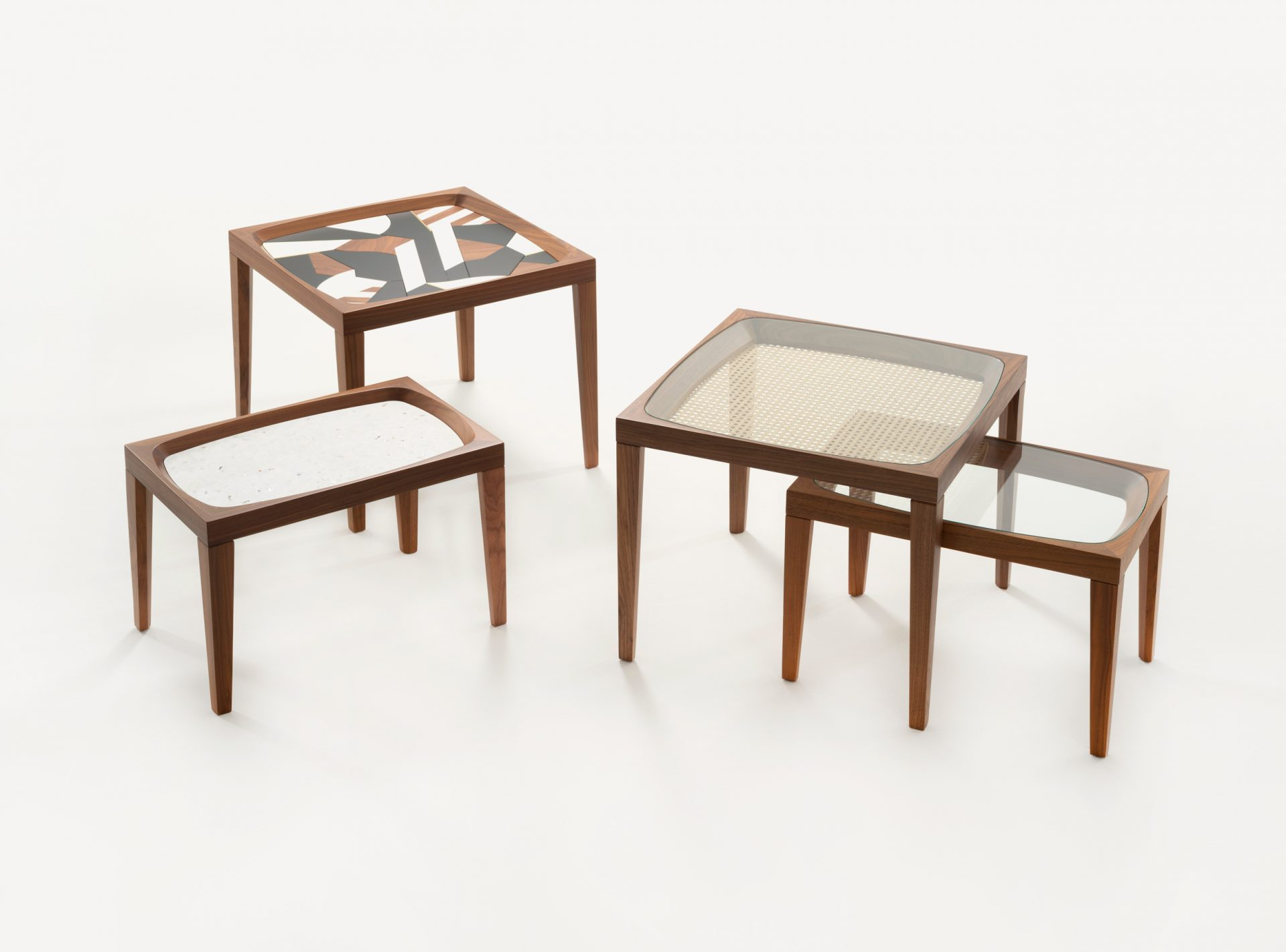 Goodwood collection of table tops by Morgan