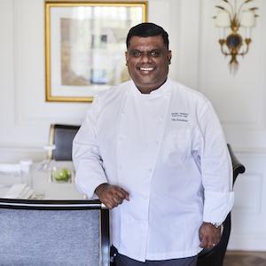 Mario Perera, Executive chef, The Dorchester