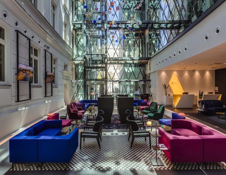 inside Hotel Indigo Warsaw
