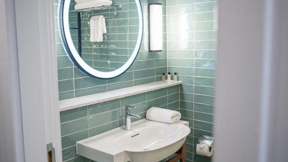 Superior bathrooms inside Dunkeld House Hotel