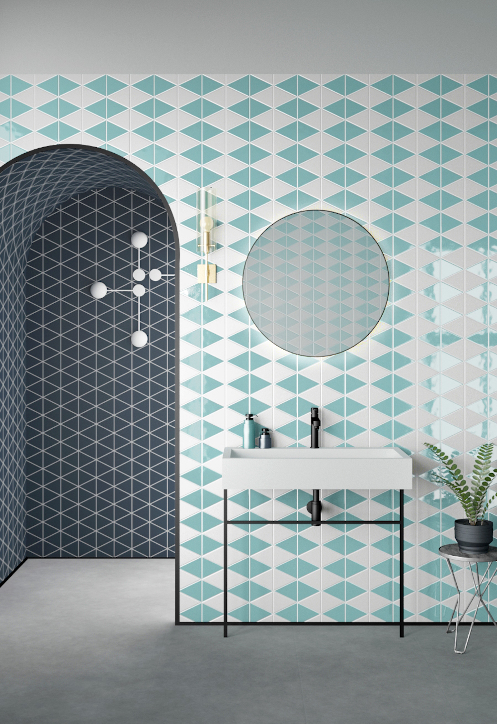 Image caption: Trivial by STD Architectural Tiles