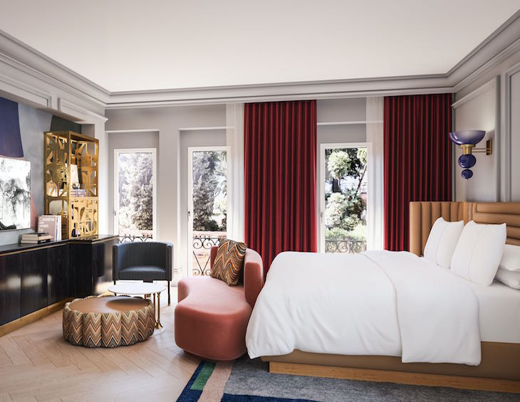 W Rome - Guest Room (render)