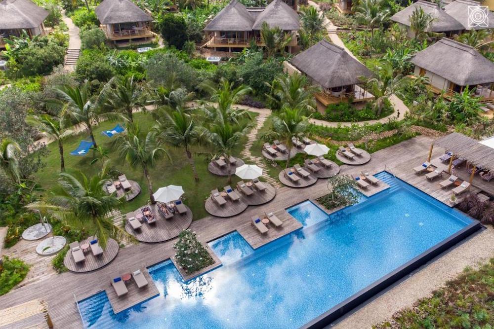 Zuri Zanzibar, designed by Jestico + Whiles