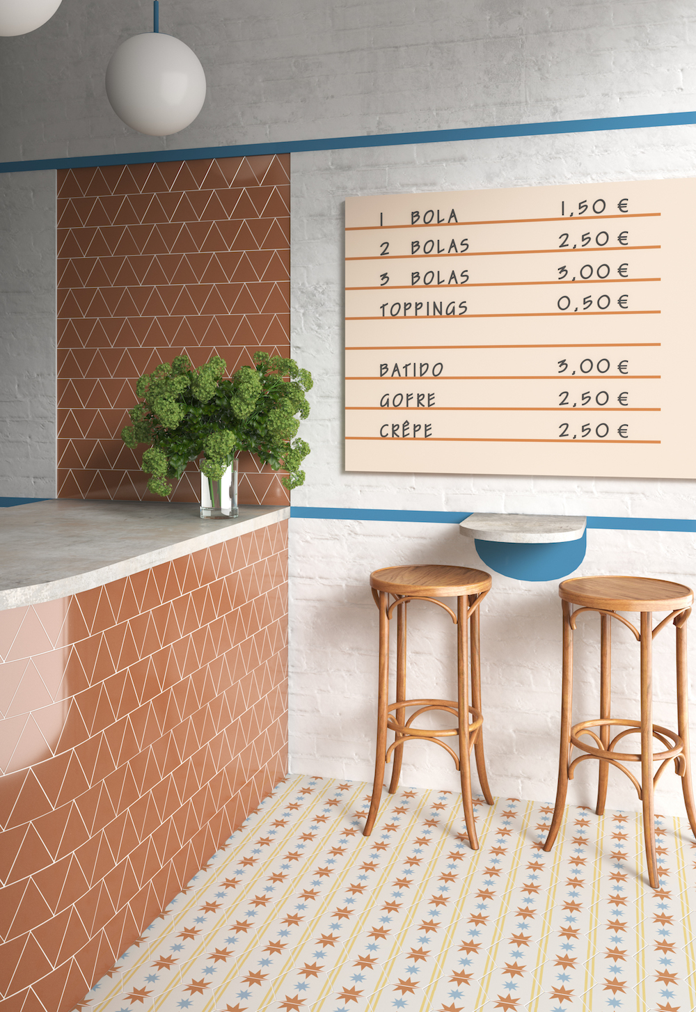 Image caption: Colourful Trivial by STD Architectural Tiles