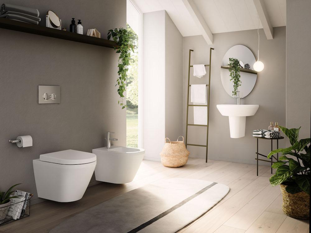 Modern scandi bathroom