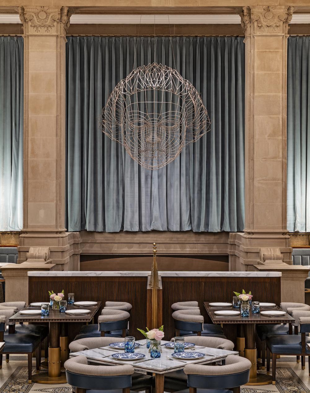 Image caption: The new Grana restaurant. | Image credit: Langham Hotels
