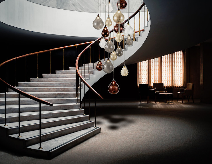 Perry 18 light staircase