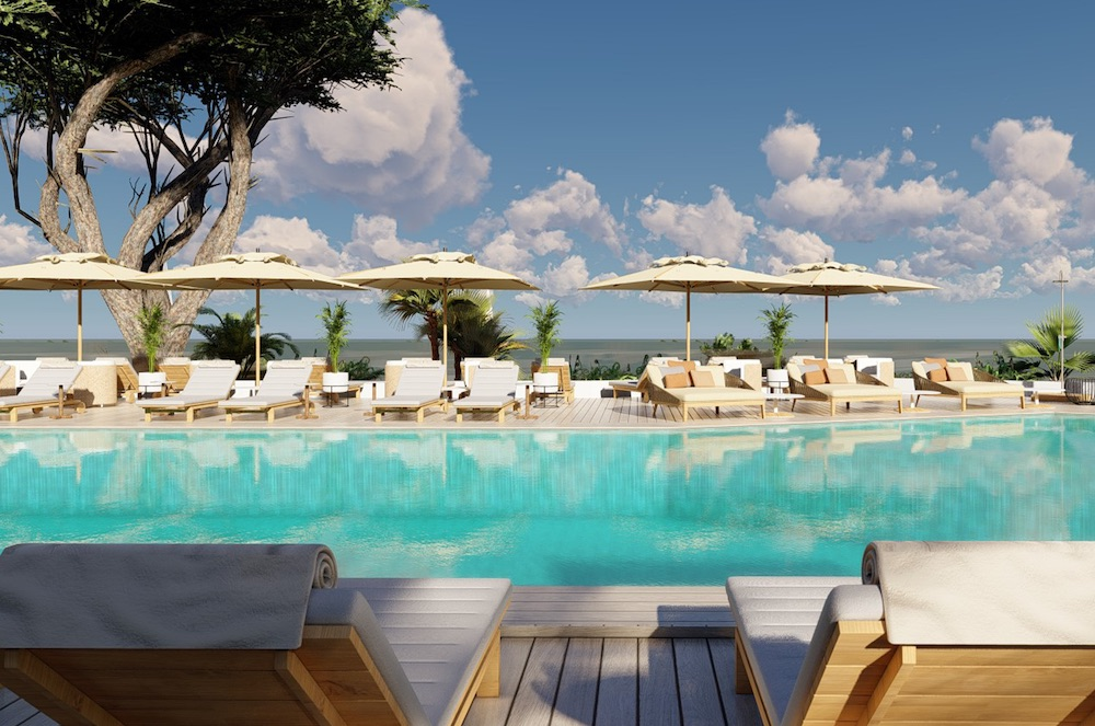 Pool in Ibiza