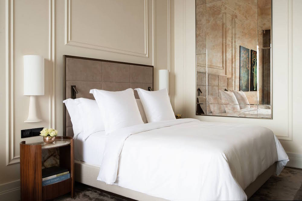 Image of guestroom at Four Seasons in Sicily