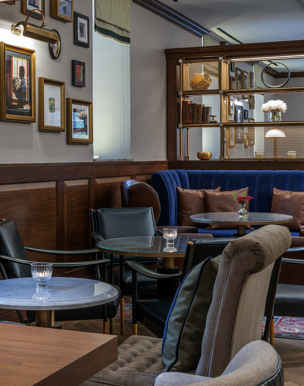 Image caption: The Fed Bar is the hotel's new F&B unit. | Image credit: Langham Hotels