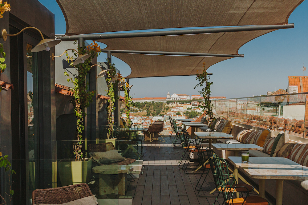Rooftop of Lumiares Lisbon