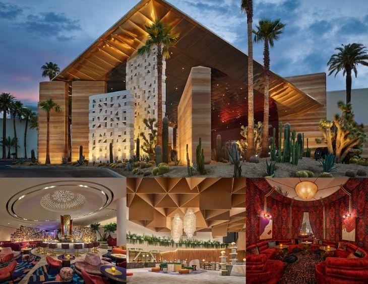 Virgin Hotels - collage of Las Vegas property