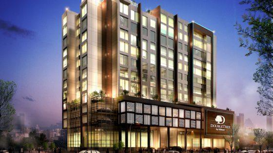 Render of new Hilton hotel in Bahrain