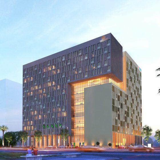 Hilton Garden Inn Riyadh Financial District and DoubleTree by Hilton Riyadh Financial District