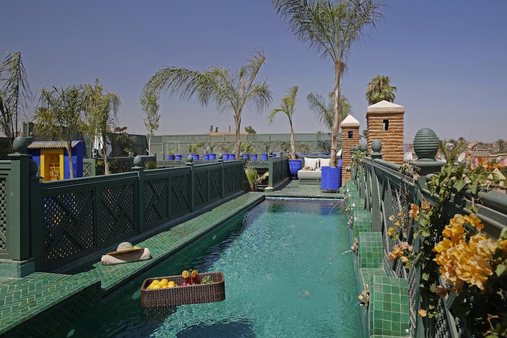 Pool at Riad Elegancia