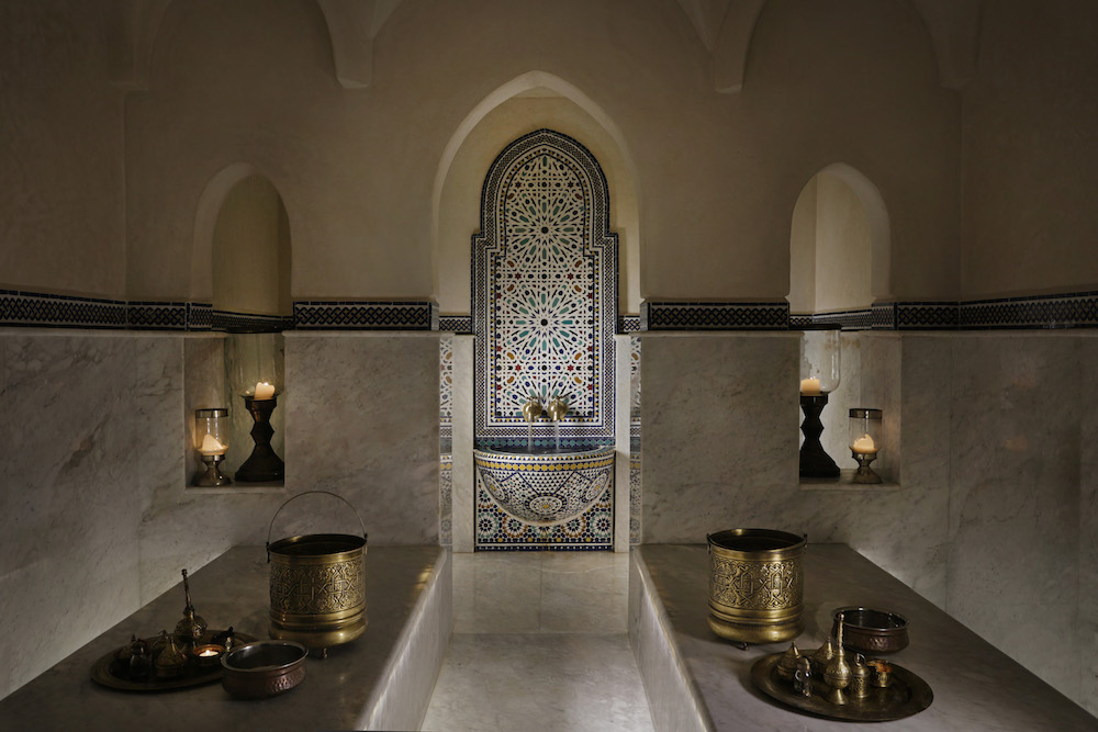 The spa inside Riad Elegancia