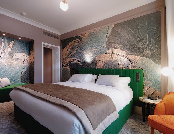 A guestroom inside M Social