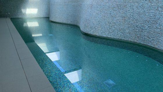 Headlands Hotel Aquacentre - Learner Pool & Wall 002