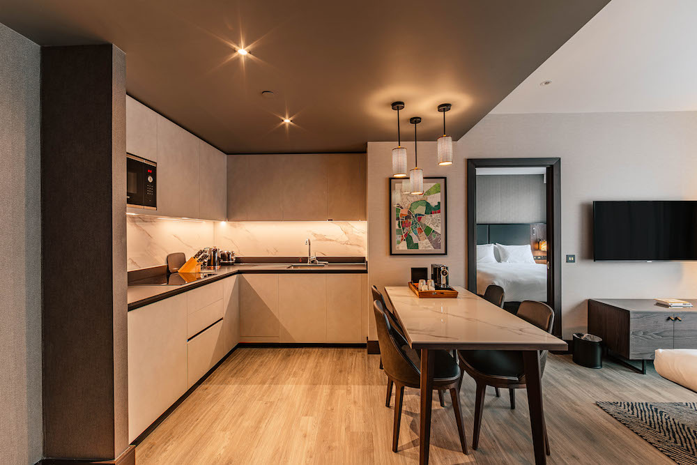 Image caption: All of which feature state-of-the-art kitchens and lounge areas. | Image credit: The Fellows House Cambridge