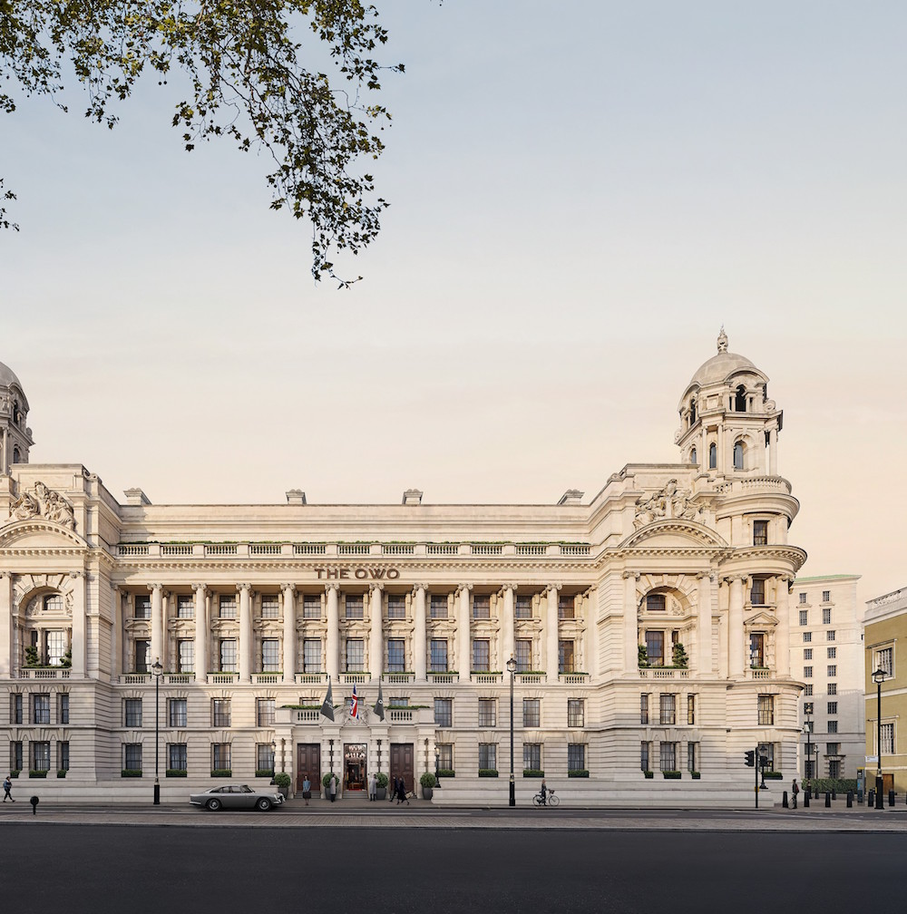 Image caption: Exterior render of Raffles London at The OWO, UK. | Image credit: Whitehall Residences Limited, c/o development manager Westminster Development Services Ltd.