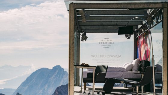 Accor hotel room on top of mountain