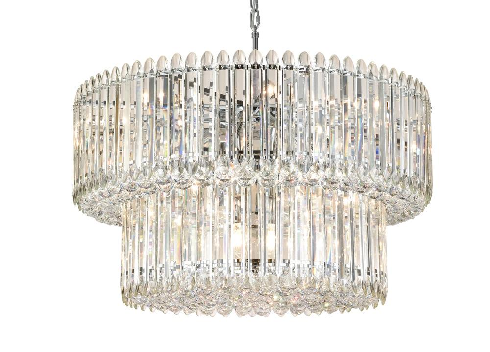 Diva lighting chandelier by Franklite