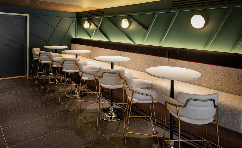 Image caption: Susan Lake's lighting design, sheltered inside Yotel Edinburgh. | Image credit: Yotel Hotels