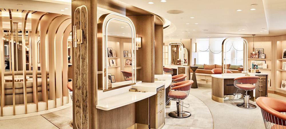 Harrods new Hair & Beauty Salon - Hairdressing Rotunda