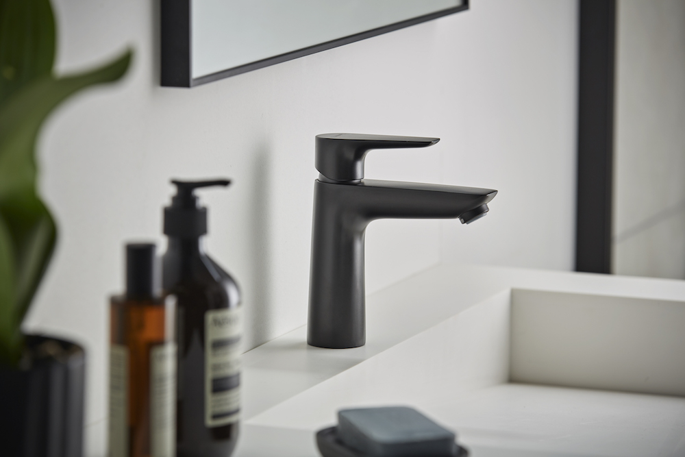 Black tap from hansgrohe