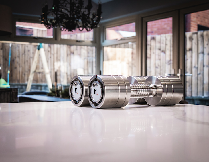 Image of klink weights on table
