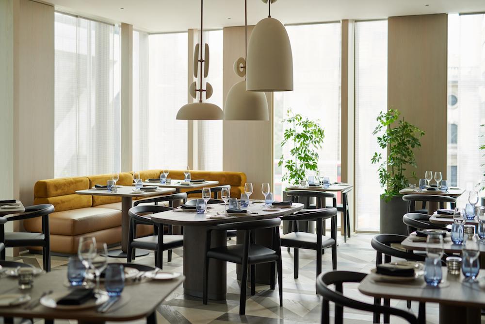 Restaurant inside Pan Pacific London