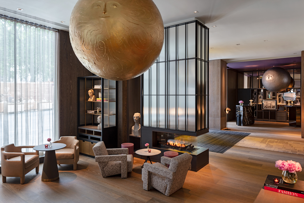 The Lobby at The Londoner hotel