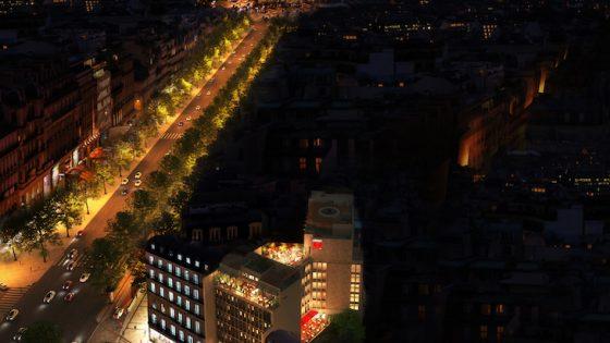citizenM paris champs elysees