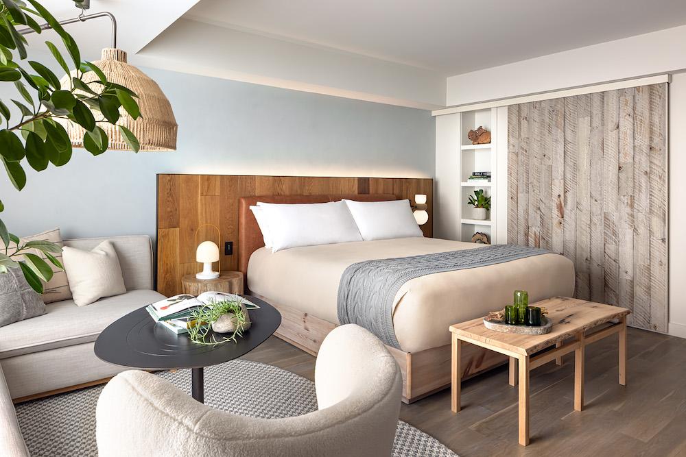 Hotel Designs | Large organic design inside guestrooms