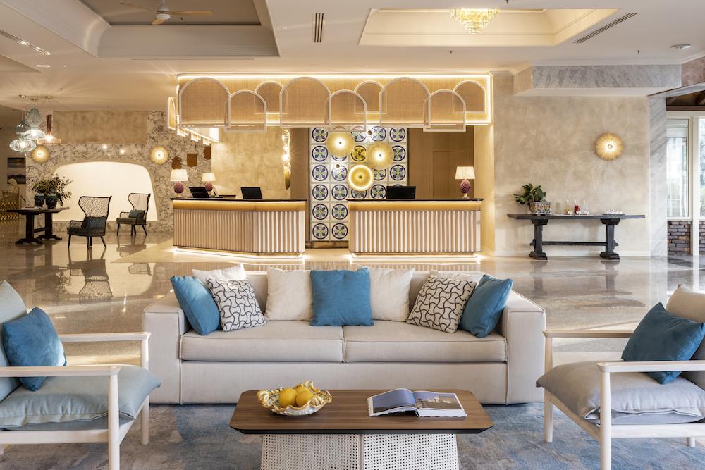 Lobby/lounge inside RG Naxos