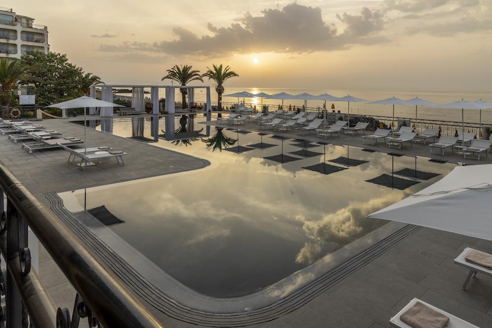 Luxury pool at RG Naxos