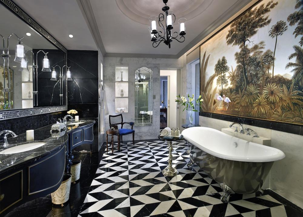 Bathroom, Flamingo Signature Room, Raffles Udaipur