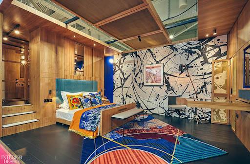 Image caption: Twenty2Degrees Design Partnership's bold Sleep & Eat Set, which was unveiled in 2019