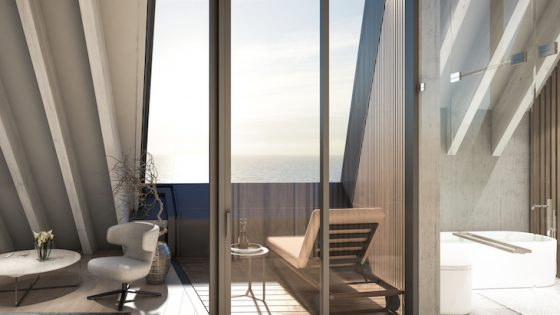 Lanserhof in Sylt bathroom and suite