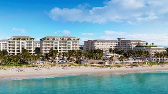 Render of beachside Four Seasons in Naples, Florida