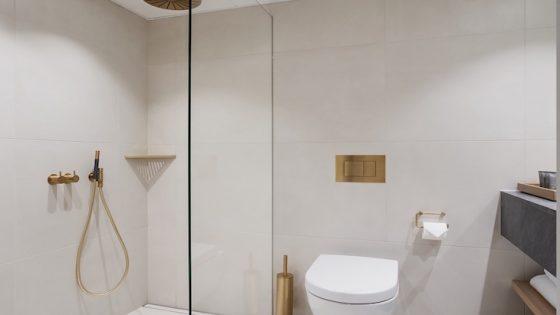 Unidrain bathroom inside the Admiral hotel in Copenhagen